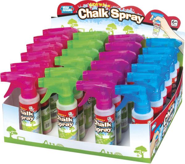 Sidewalk Chalk Spray