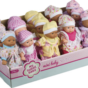 Mini Babies Assorted Skin Tones