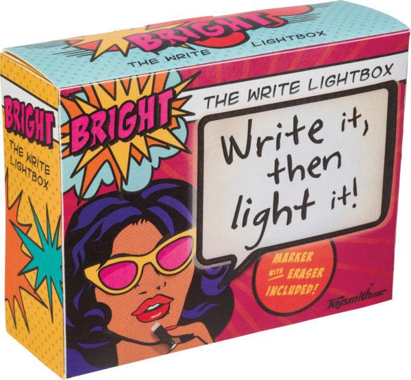 THE WRITE LIGHTBOX
