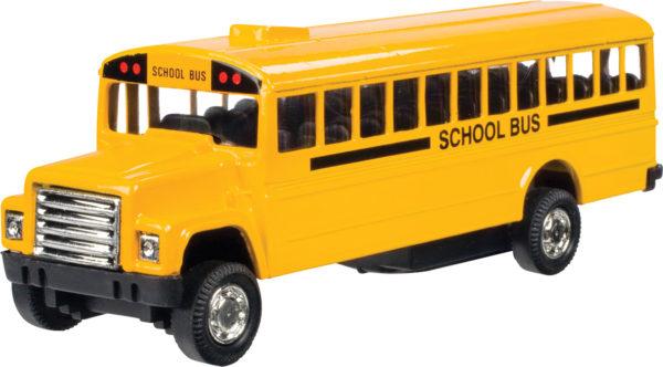 Pull-Back School Bus