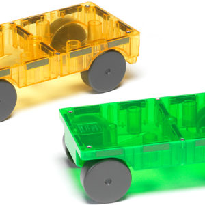 Magna-Tiles Cars 2 Piece Expansion Set