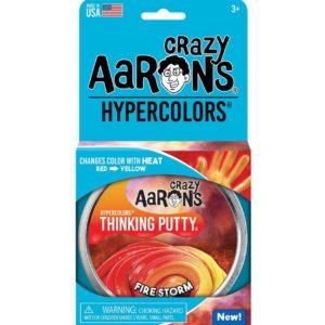 "Firestorm 4"" Tin Hypercolor Thinking Putty"