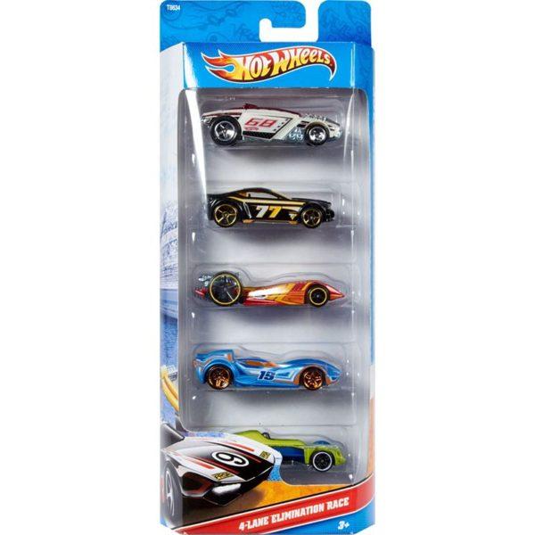 Mattel Hot Wheels 5-Pack