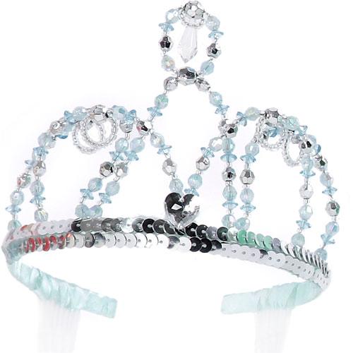 Bella Cinderella Tiara (silver Blue)