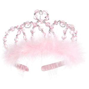 Princess Tiara (pink Silver)