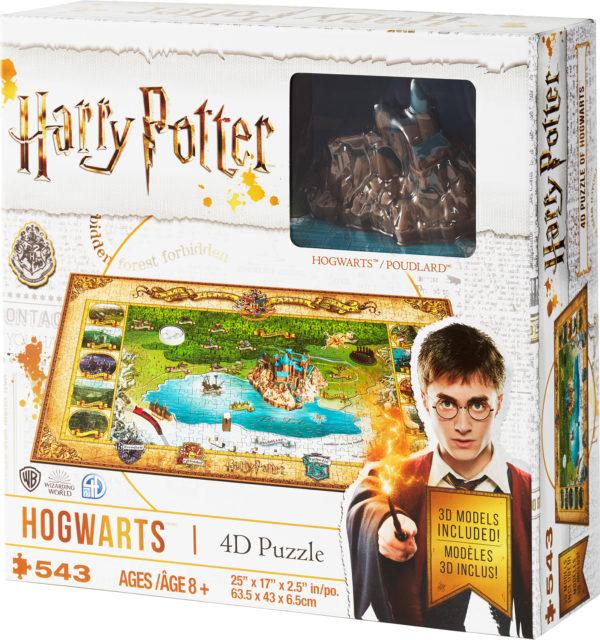 Harry Potter 4D Mini Hogwarts Puzzle