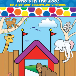 DO-A-DOT ART ZOO ANIMALS ACTIVITY BOOK