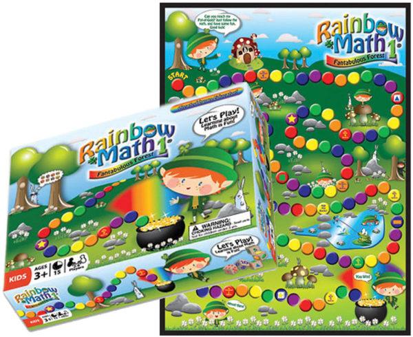 Rainbow Math: Fantabulous Forest