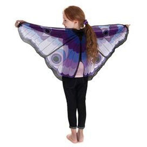 Purple Butterfly W/ Eyes Wings