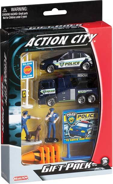 Police Dept. 10 Piece Gift Set