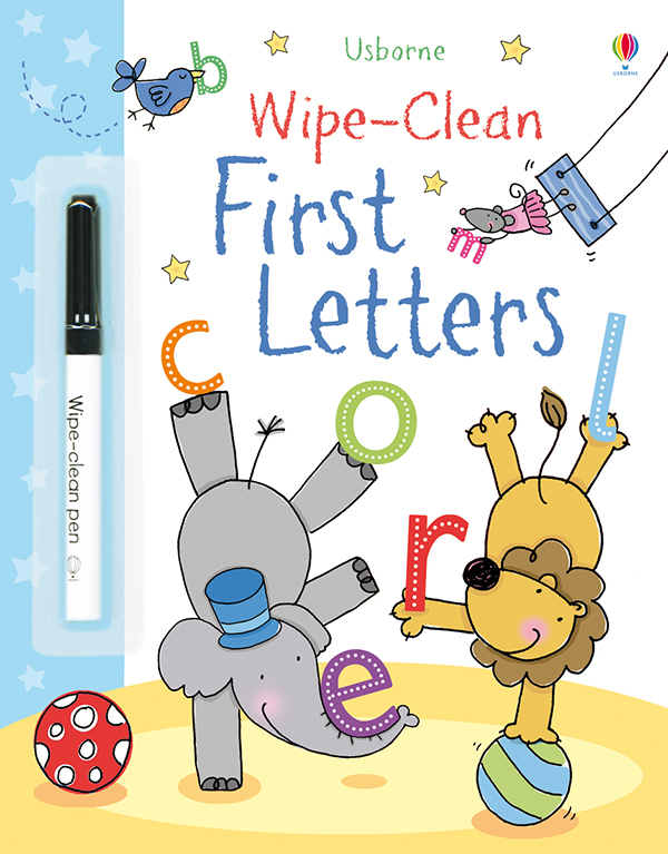 Wipe-Clean, First Letters