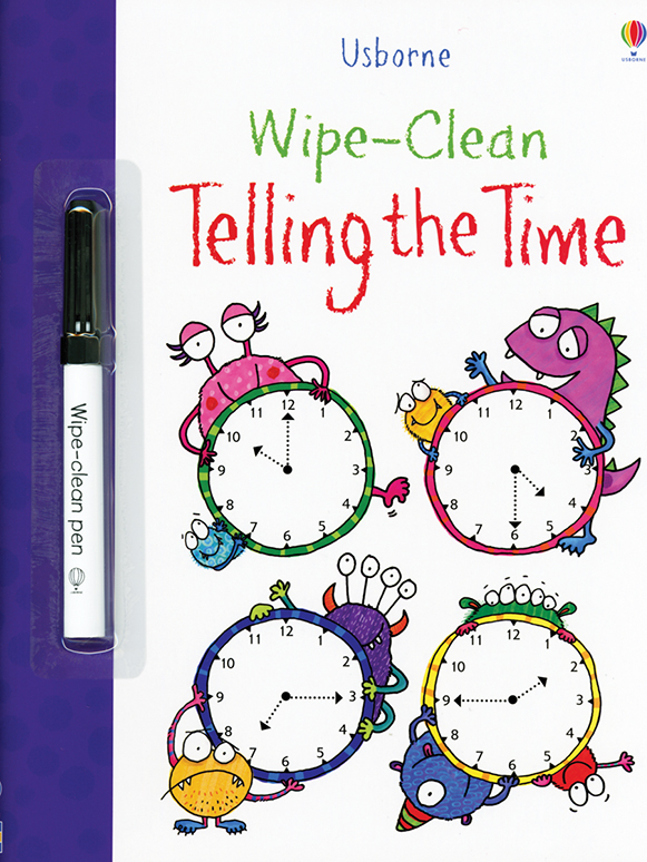 Wipe-Clean, Telling The Time