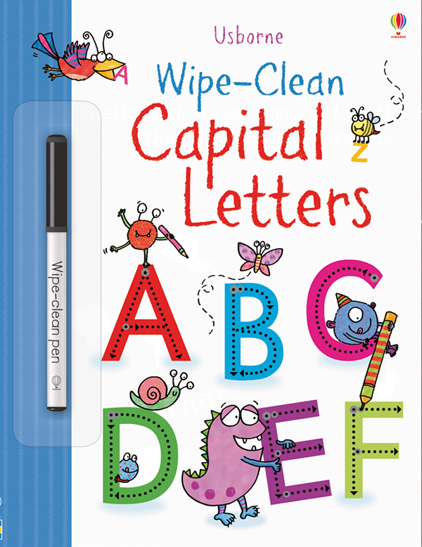 Wipe-Clean, Capital Letters