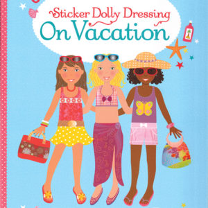 Sticker Dolly Dressing On Vacation