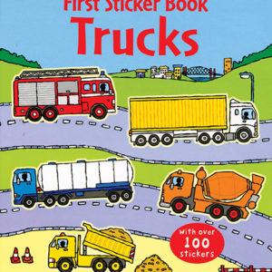 First Sticker Book, Trucks