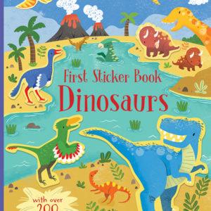 First Sticker Book, Dinosaurs