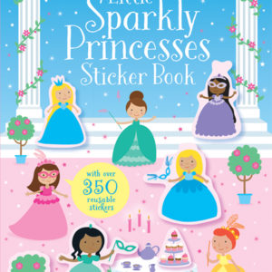 Little Sparkly Princesses Sticker Book