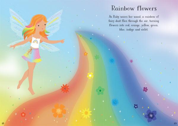 Little Sticker Dolly Dressing Rainbow Fairies