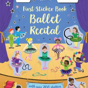 First Sticker Book, Ballet Recital (Ir)
