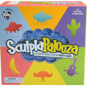 Sculptapalooza The Squishy, Squashy, Sculpting Game, English/Spanish Version