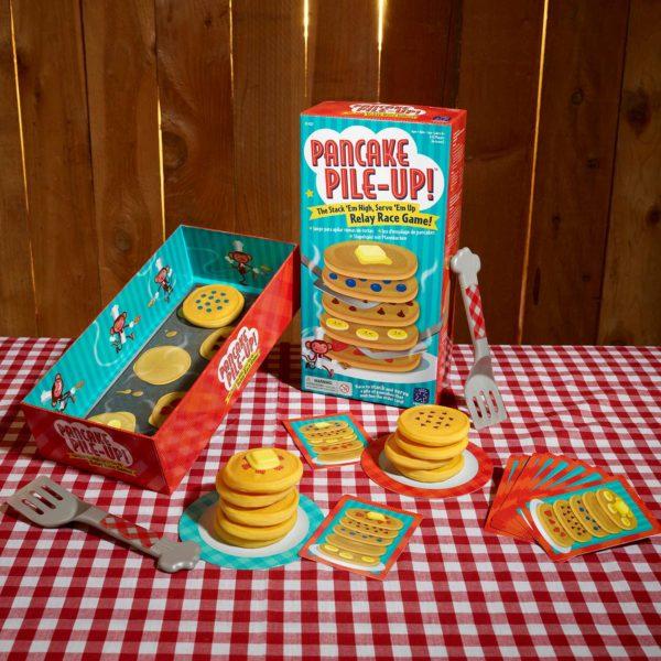 Pancake Pile-Up! Relay Game