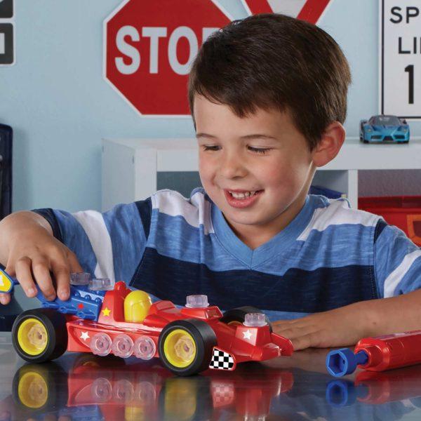 Design & Drill Power Play Vehicles - Race Car