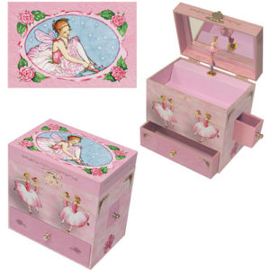 Ballerina Treasure Box