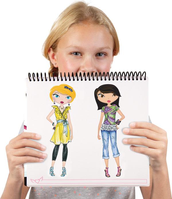 Fashion Design Sketch Portfolio