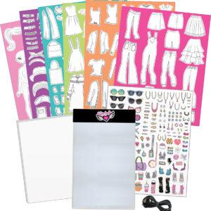 Fashion Design Light Pad Sketch Set