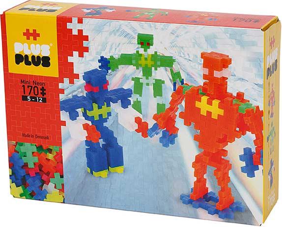 Plus-Plus170 pc Robots