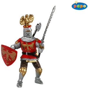 Crested Red Knight
