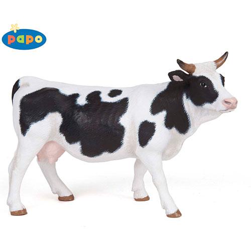 Piebald Cow