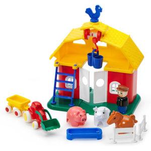Viking City Farm Set