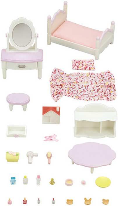 Calico Critters Bedroom Vanity Set Kazoo Toys