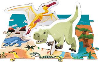Educational Puzzle- The Dinosaurs - 200 Pcs