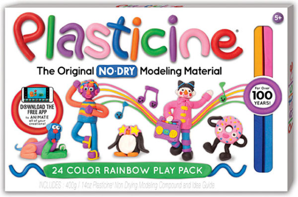 Plasticine 24-Color Play Pack
