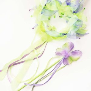 Green Fairy Halo & Wand