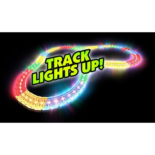Twister Tracks 221 (11 feet) Neon Glow Track + 1 Police Car
