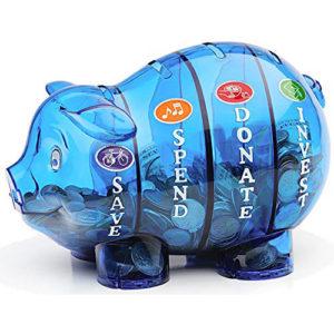 Money Savvy Pig - Blue