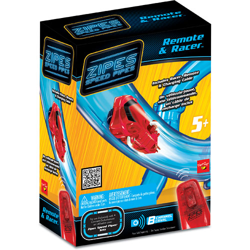 Zipes Speed Pipes Remote Control Toy-Vehicle & Remote Accessory Set
