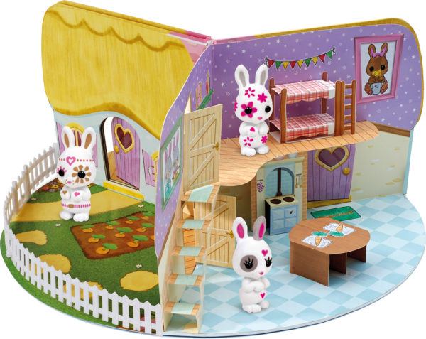 FUZZIKINS CRAFT Cottontail Cottage (Book)