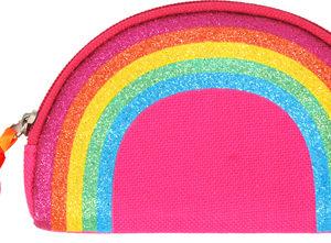 Rainbow magic coin purse-hot pink