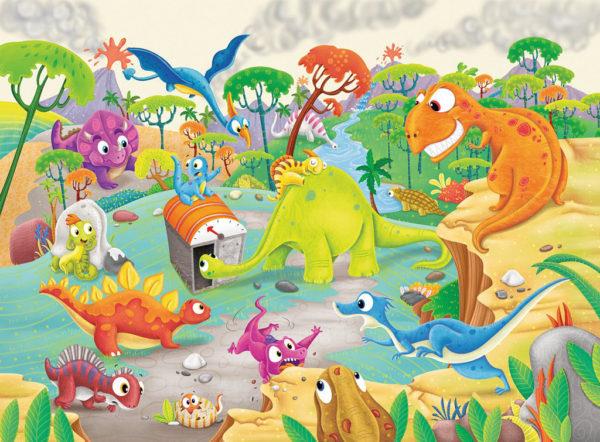 Time Traveling Dinos