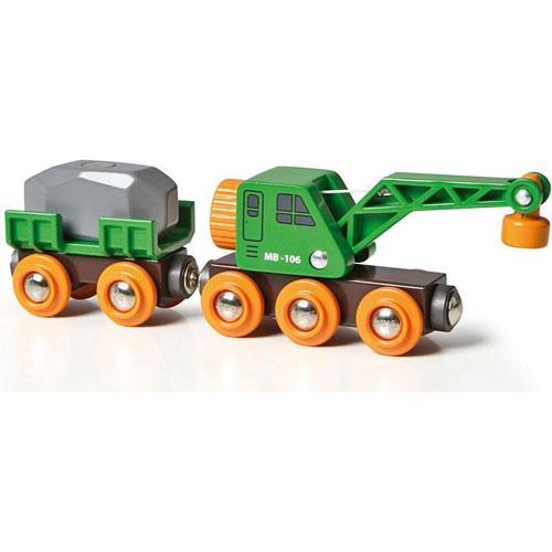Clever Crane Wagon