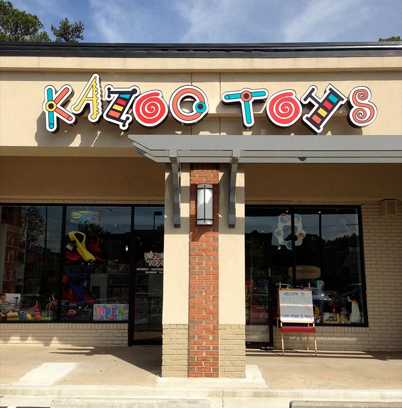 kazoo toys atlanta storefront