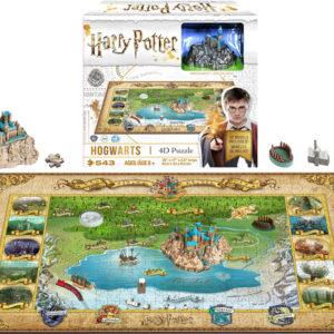 Harry Potter 4D Puzzle - 500 Piece: Hogwarts
