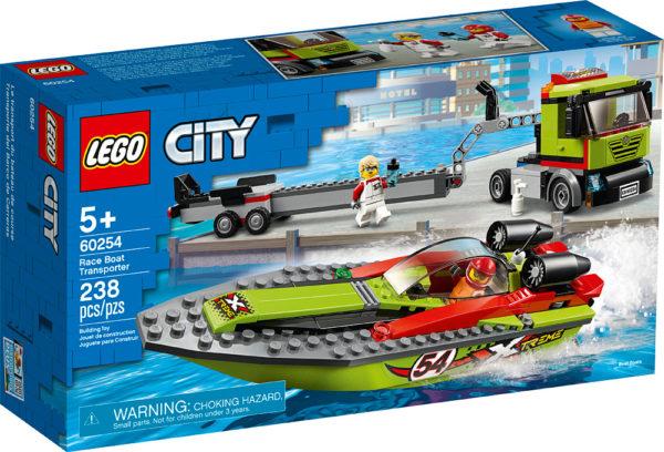 LEGO CITY - Race Boat Transporter