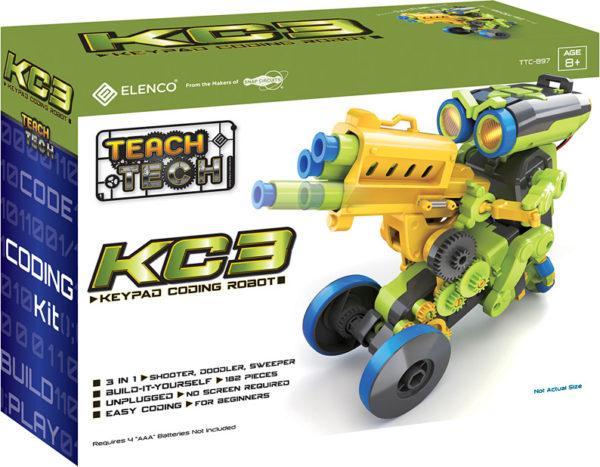 Teach Tech KC3 Keypad Coding Robot