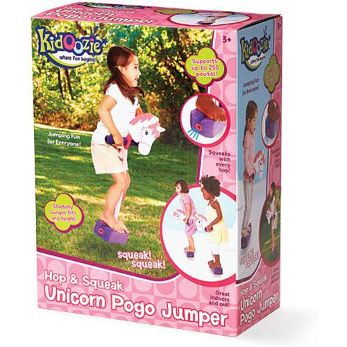Hop & Squeak Unicorn Pogo Jumper