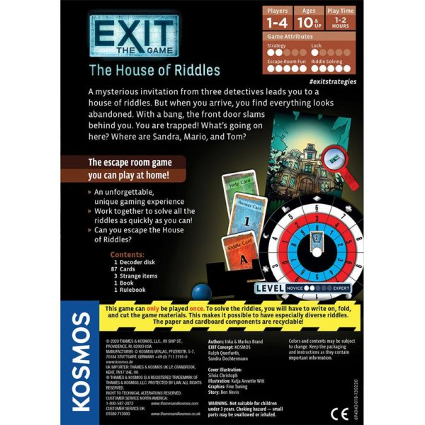 EXIT Game The House of Riddles